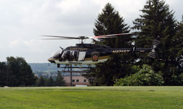 Bell Helicopter Completes Final Delivery to Pennsylvania State Police for Six Bell 407GXs