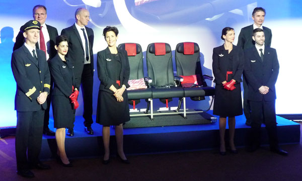 Air France seeks to attract business travelers to its medium-haul network