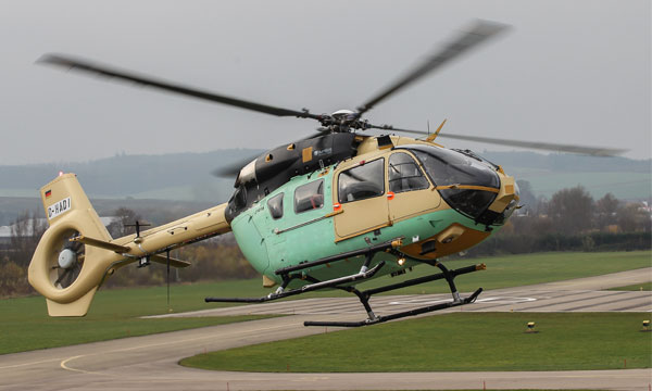 Successful First Flight of Airbus Helicopters' EC645 T2