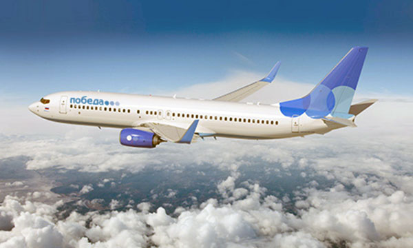 Pobeda makes its maiden flight