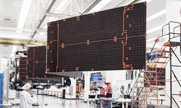 Boeing's Spectrolab Manufactures Record 4 Millionth Space Solar Cell