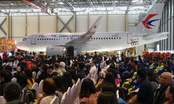 Airbus celebrates 200th aircraft assembled in Tianjin