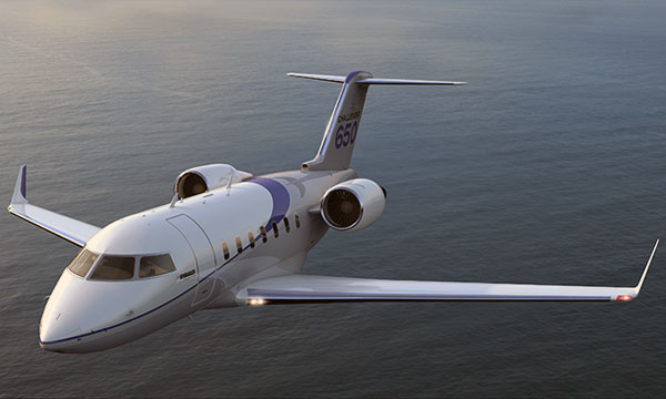 Bombardier Delivers a Challenger 605 Aircraft in Turkey