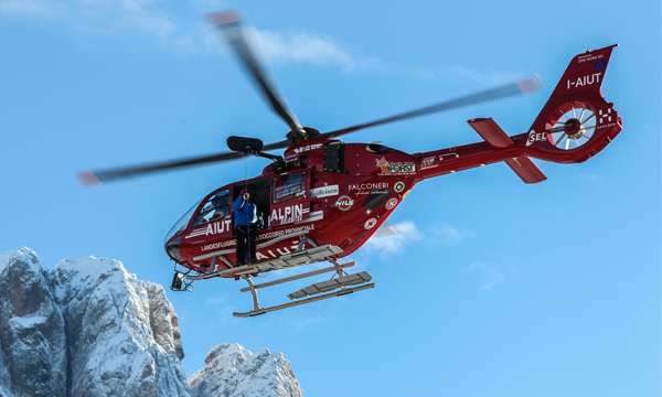 Airbus Helicopters' first enhanced EC135 T3/P3 enters service with Aiut Alpin Dolomites in high-altitude rescue operations