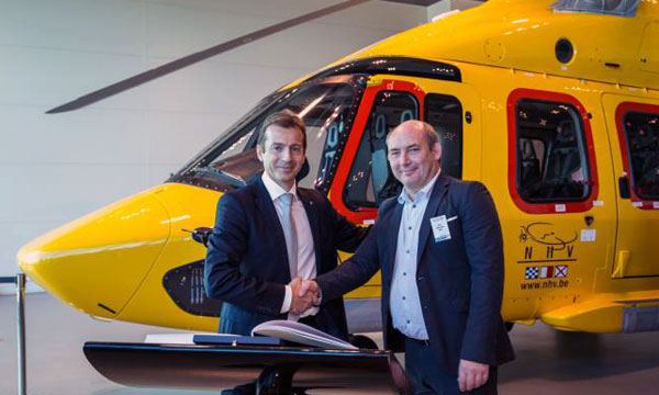 Airbus Helicopters delivers the first new-generation EC175 rotorcraft
