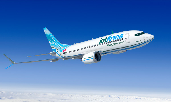 Boeing, Jetlines Announce Order for Five 737 MAX 7s
