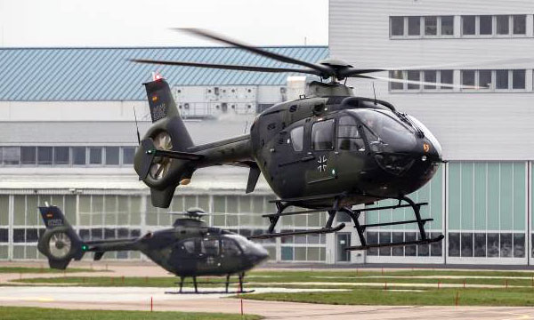 Airbus Helicopters to Continue Providing Full Service Support for Bundeswehr's EC135 Training Helicopters
