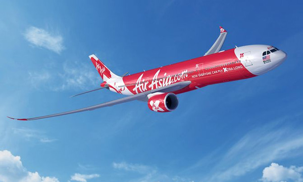 AirAsia X places firm order for 55 A330neo