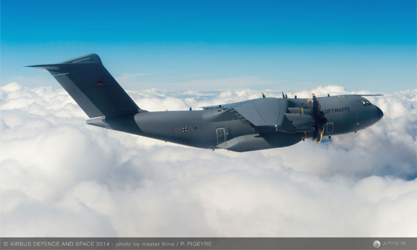 Germany takes delivery of its first Airbus A400M