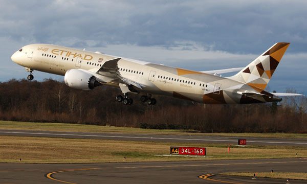 Etihad Airways receives first Airbus A380