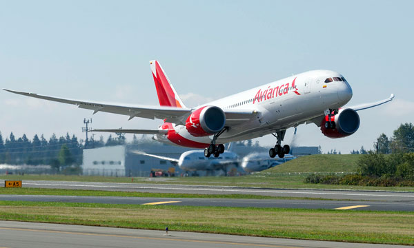 Avianca Celebrate Delivery of Airline's First 787 Dreamliner