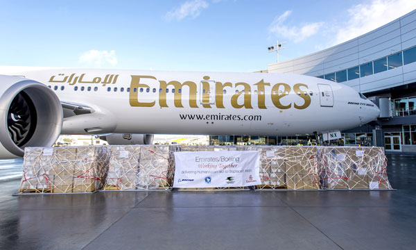 Emirates Airline Partner to Ferry Protective Winter Gear for the Underprivileged in Iraq