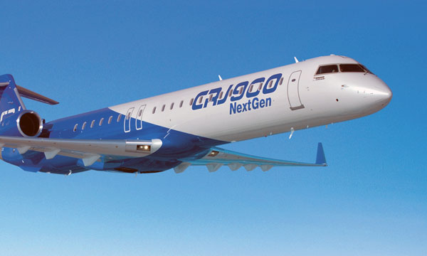 Customer Places Firm Order for 24 Bombardier CRJ900 NextGen Aircraft
