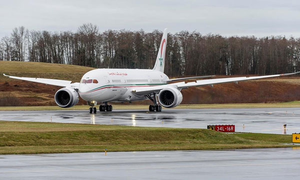 Royal Air Maroc Celebrate Arrival of Airline's First 787