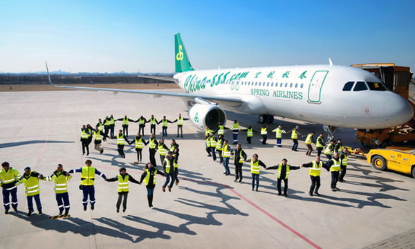 China's first low cost carrier expands fleet to meet growing demand for cost efficient air travel