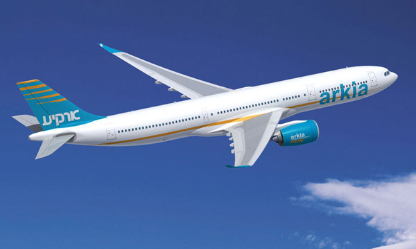 ARKIA goes long-haul and commits to Airbus A330-900neo
