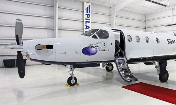 Pilatus delivers the 1,300th PC-12