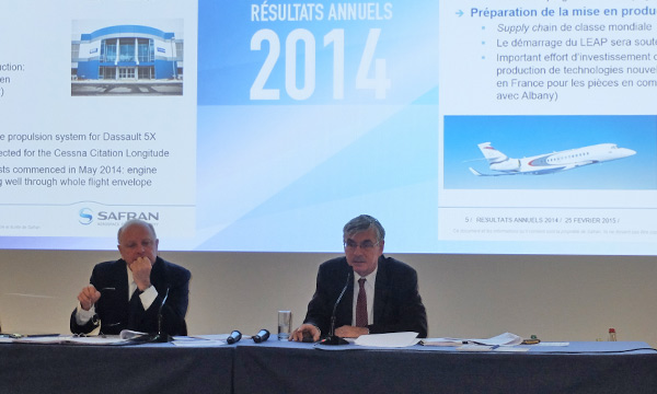 Safran: record 2014 results