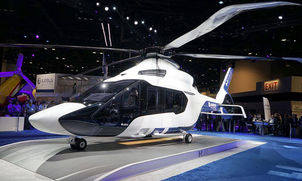 Airbus Helicopters unveils its all-new H160 as the benchmark for medium-class rotorcraft