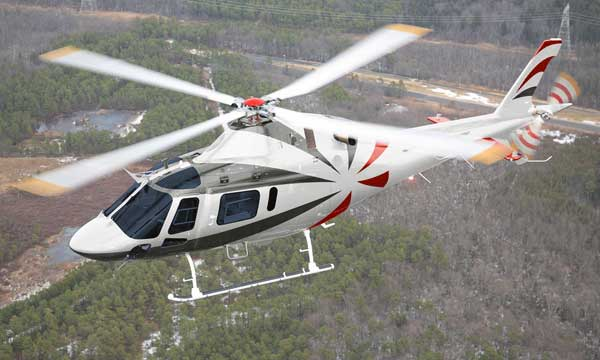 First AW119Kx helicopter delivered to China