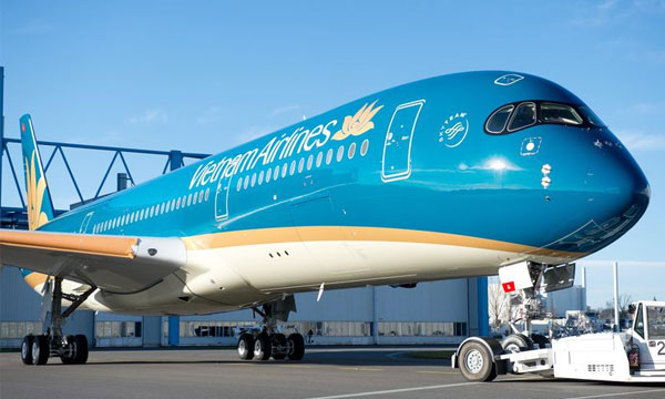 Vietnam Airlines reveals livery of its first A350 XWB