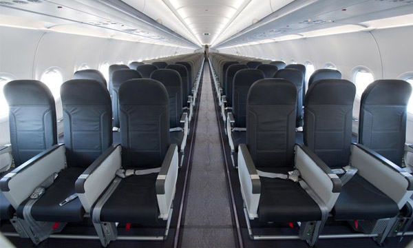 Vueling takes delivery of its first enhanced comfort A320 cabin