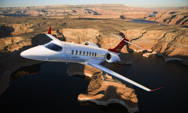 Bombardier Delivers first Learjet 75 Aircraft to Poland