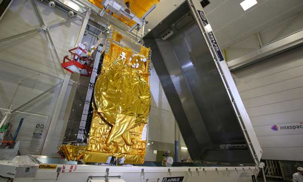 DIRECTV 15, the most powerful US broadcast satellite, leaves Airbus Defence and Space
