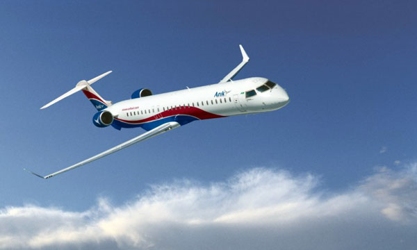 Arik Air places its first Bombardier CRJ1000 NextGen