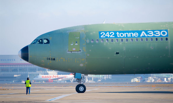 EASA certifies the latest and most capable 242 tonne A330 version