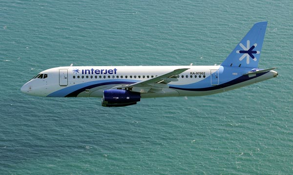 SuperJet International announces additional 10 SSJ100 for Interjet
