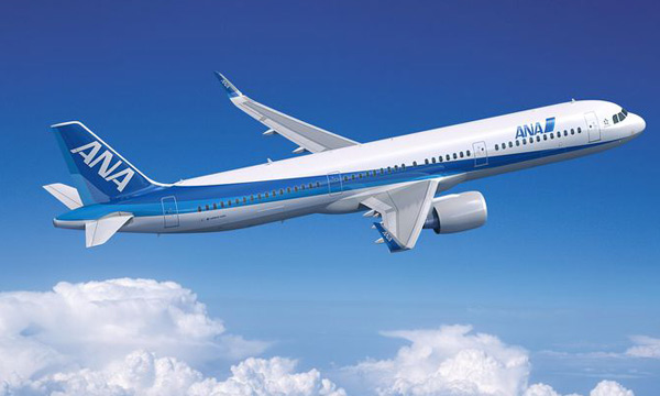 Takes ANA's total order for the A320 Family to 37 aircraft