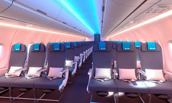 Airbus and Recaro Aircraft partnership for an Economy Class seat