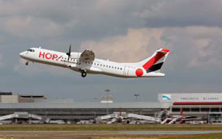 HOP! introduces first ATR 72-600 to Air France Group