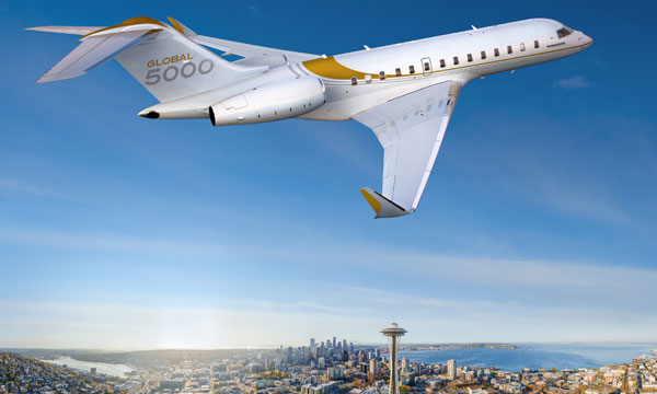 Bombardier Marks 10th Anniversary Of The First Global 5000 Delivery
