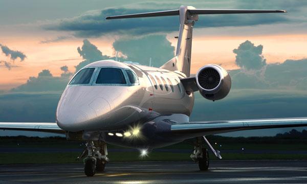 Embraer exhibits Phenom executive jets at Sun'n Fun