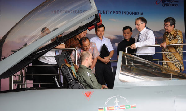 Eurofighter showcases offer of indigenous capability for Indonesia