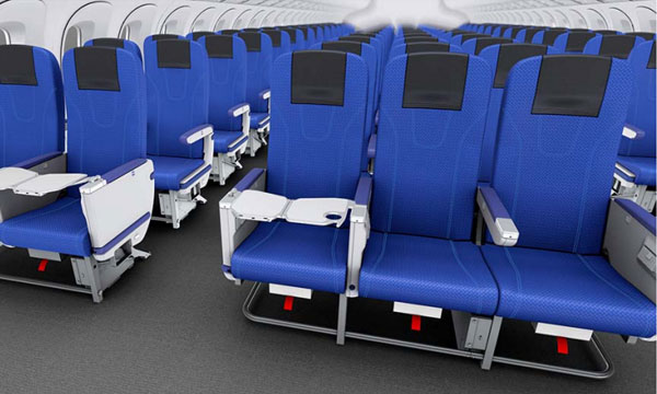 ANA and Toyota jointly develop new seats for Economy Class