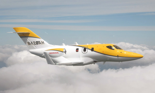 The HondaJet to make debut in Japan and Europe