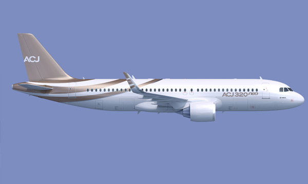 Modern design of Airbus ACJneo is natural fit for new technologies
