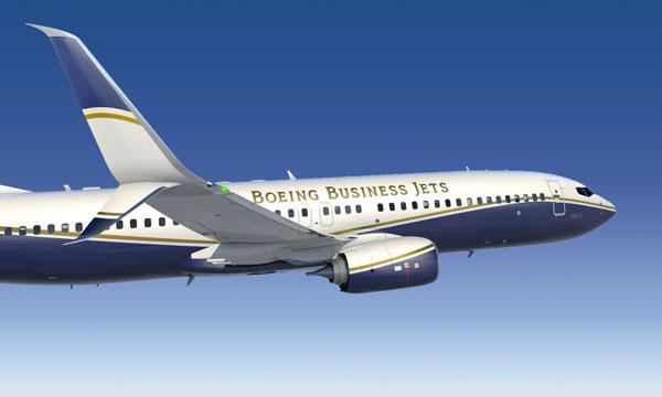 Boeing Business Jets unveils Split Scimitar winglets for BBJ Family