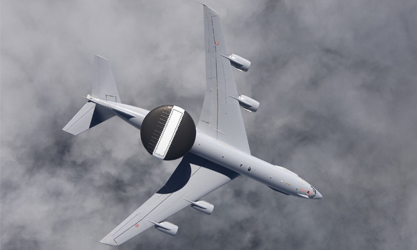 Boeing-upgraded French AWACS Take Flight