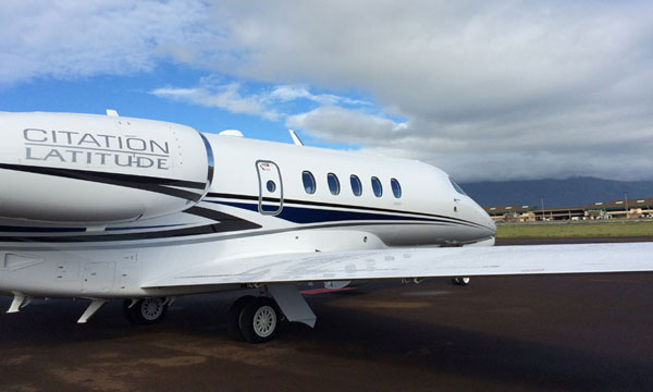 Citation Latitude continues to stretch its legs on transcontinental flights