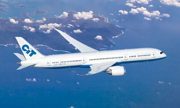 CIT Aerospace Selects GEnx Engines to Power Its Boeing 787 Dreamliner