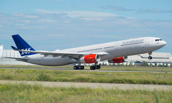 First airline in Europe to receive the A330-300 242-tonne version