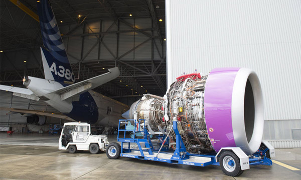 Trent XWB-97 shipped to Toulouse for flight testing