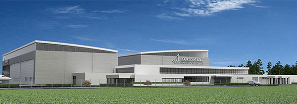 Dassault Falcon service breaks ground on Bordeaux-Mérignac maintenance facility