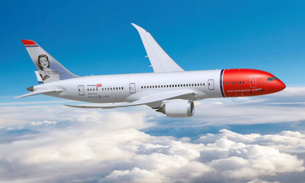 Norwegian Finalize Order for 19 787-9 Dreamliners