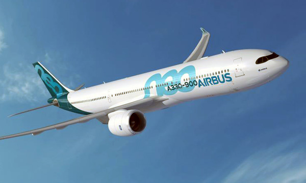 """""""Shades"""" livery now also on new A330neo"""
