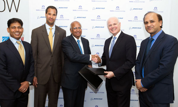 Boeing and Tata announce aerospace Joint Venture in India